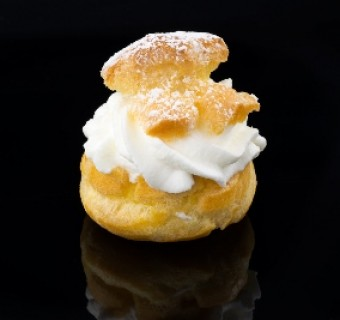 """Lemon Cream Puffs"" from a Billet Mom's Kitchen"