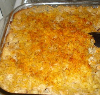 """Hash Brown Casserole"" from a Billet Mom's Kitchen"