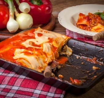 """Easy Lasagna"" from a Billet Mom's Kitchen"