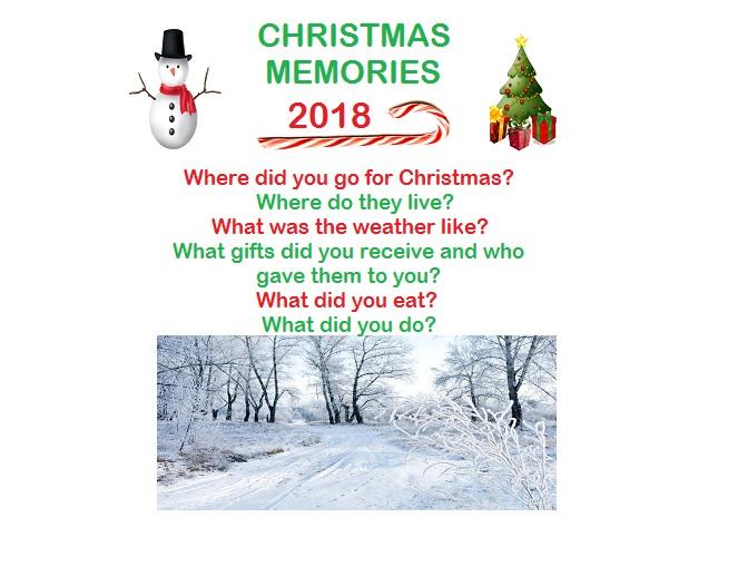 Christmas Memories 2018